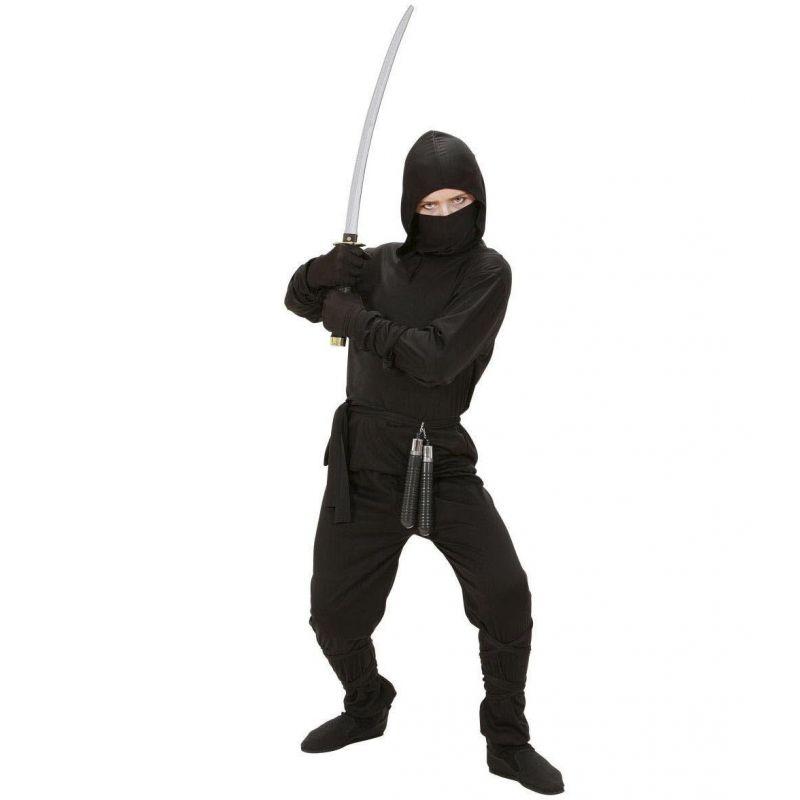 533740553c7f ... Widmann 02646 - Kostým Ninja čierny 128 S ...