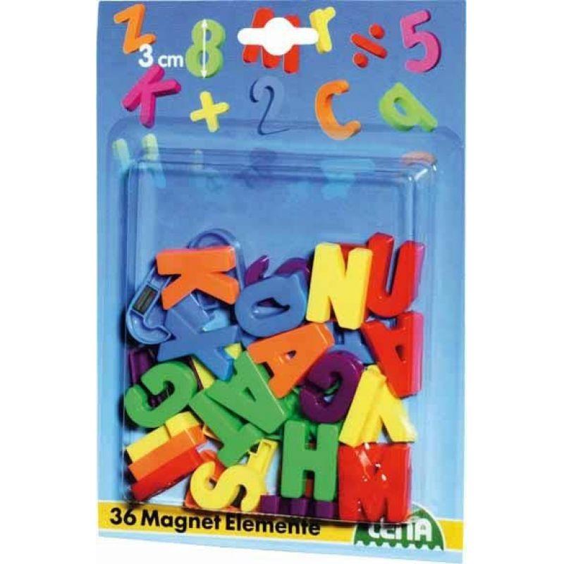 f0aa7b77d Lena 65745 - Magnetické písmená veľké | Značkové detské hračky a ...