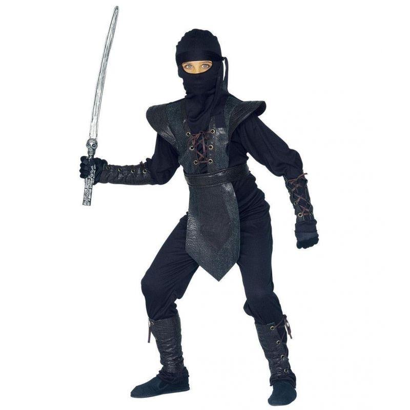 673d378a0c4c Widmann 38798 - Kostým čierny ninja 158 L
