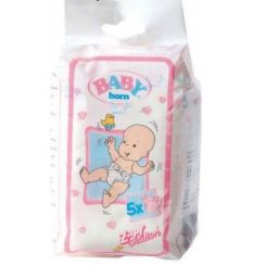 Zapf Creation 815816 Baby Born plienky 5 ks