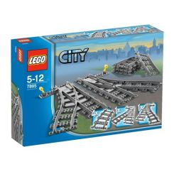 LEGO City Trains 7895 - Výhybky