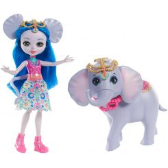 Mattel FKY72-FKY73 Enchantimals Ekaterina Elephant a Antic
