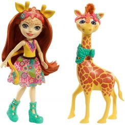 Mattel FKY72-FKY74 Enchantimals Gillian Giraffe a Pawl