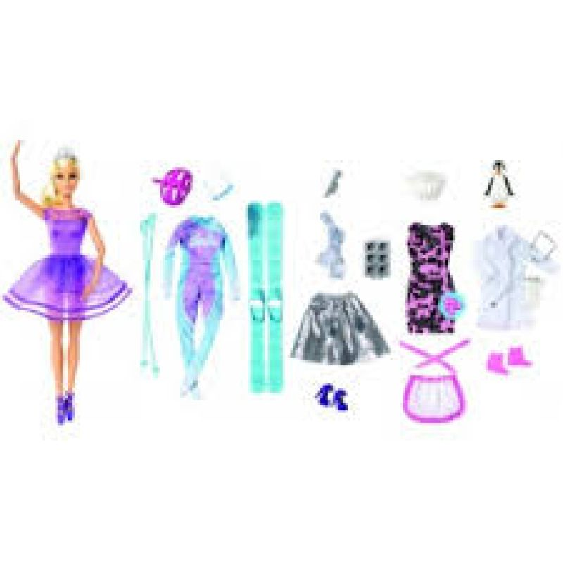 90fd61974d3e ... MATTEL FTF92 Bábika Barbie adventný kalendár 2018