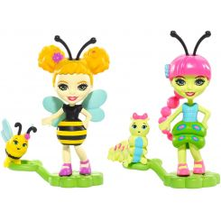 Mattel Enchantimals Chrobáčiky Cay Caterpillar a Scriggly s Beetrice Bee a Pollen