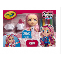 Crayola Colour 'n Style Friends Deluxe Rose baba