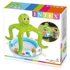 Intex 57115 Bazén baby chobotnica so strieškou 102 x 104 cm