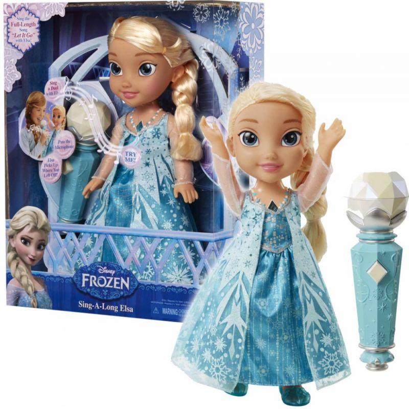 0bfec9bb1 Jakks Pacific MH0042 Spievajúca bábika Elsa s mikrofónom