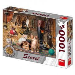 Dino 53265 Puzzle 1000 dielov Mačičky secret collection