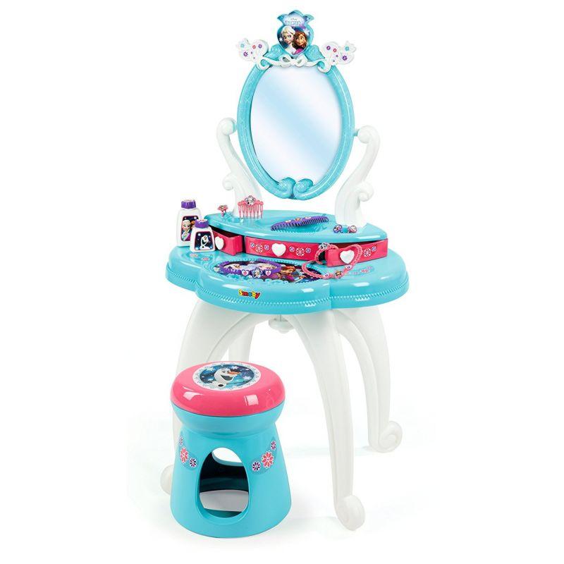 c3f42d4aca83 Smoby Frozen Ľadové kráľovstvo 320214 Toaletný stolík so stoličkou ...