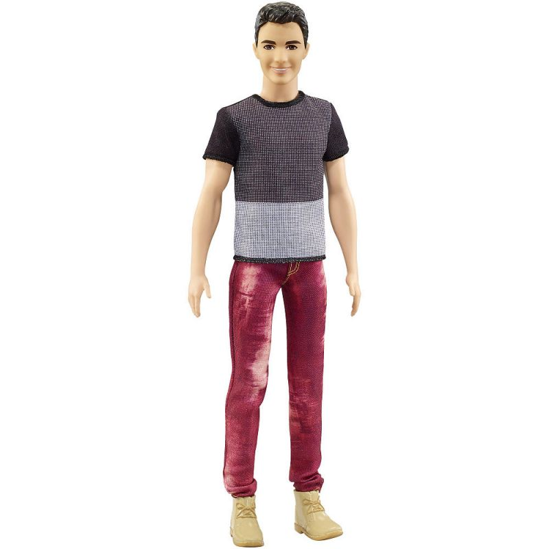 e44b80b664f4 Mattel DWK44-DWK47 Barbie Ken model čiernovlasý