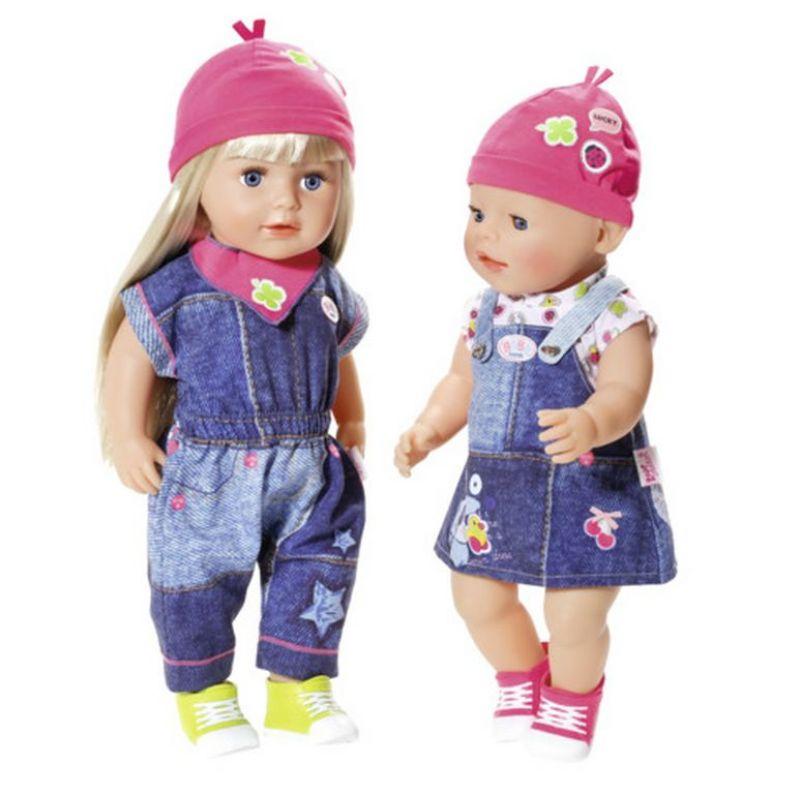 ... Zapf Creation Baby Born 824498 - Džínsová súprava s teniskami ... 8fb1c38105d